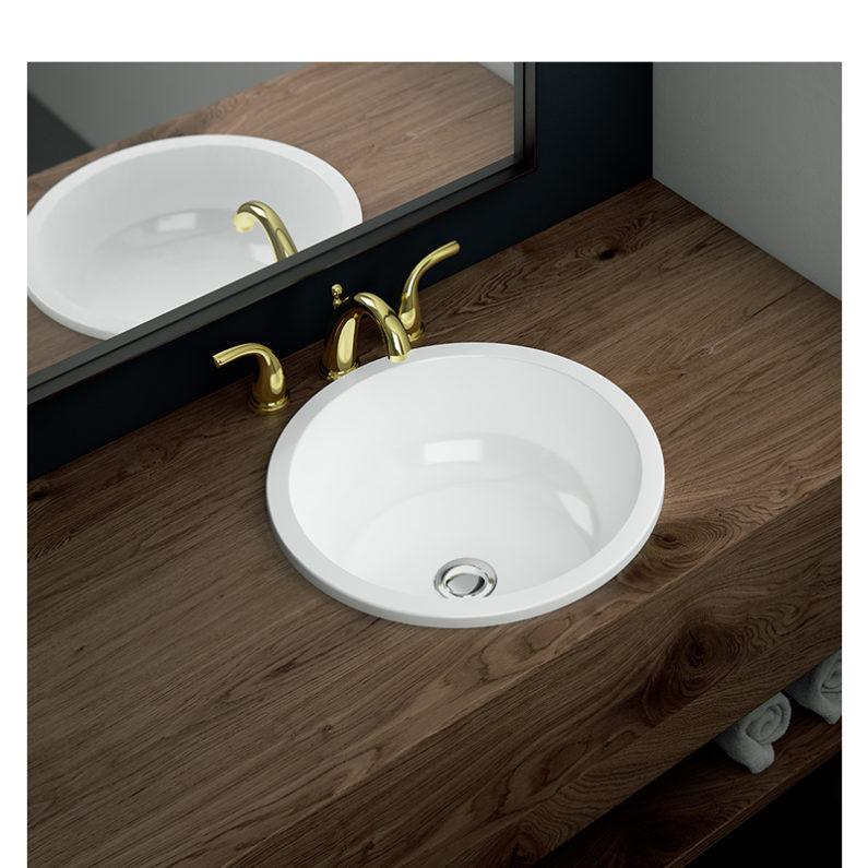 Umywalka wpuszczana w blat modnym i praktycznym rozwiązaniem w łazience